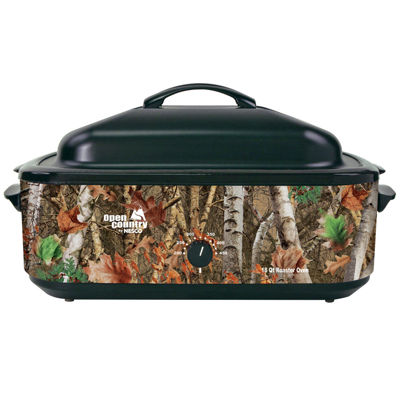 Nesco 4818-17 Open Country 18-Quart Roaster in Woodland Birch Camouflage Design