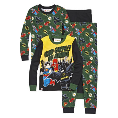 4-pc. DC Comics Super Heroes Pajama Set- Boys 4-10