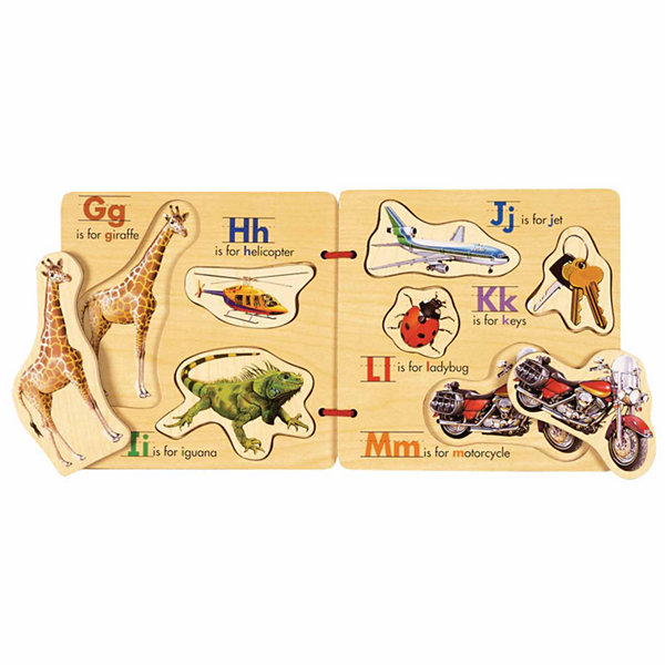 Abc Wooden Activity Book