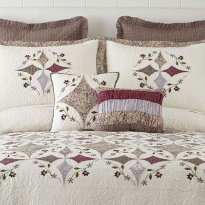 Home Expressions Lavender Pieced Bedspread