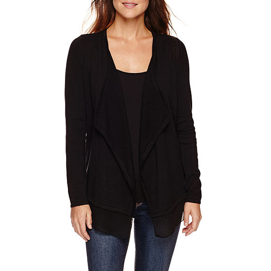 Ana Long Sleeve Cardigan Petite