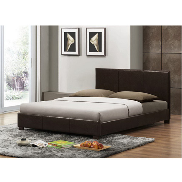 Baxton Studio Pless Upholstered Modern Bed