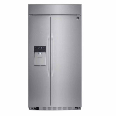 "LG ENERGY STAR® 25.6 cu. ft. Cabinet Depth 42"" Smart Wi-Fi Enabled Built-in Side by Side Refrigerator"