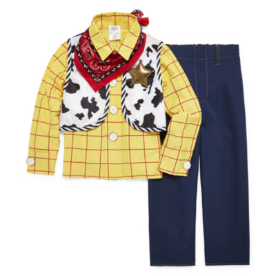 Disney Woody 4-pc. Toy Story Dress Up Costume Boys