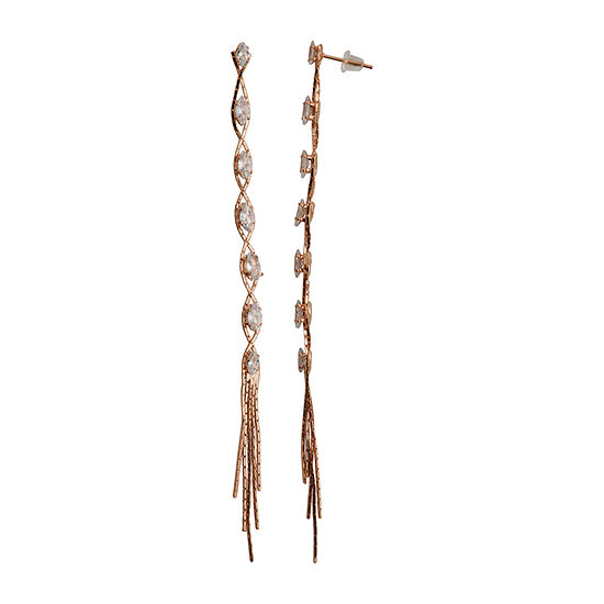 Sparkle Allure Cubic Zirconia Drop Earrings