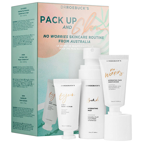 Dr Roebuck's Pack Up & Glow Discovery Kit