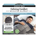 Sharper Image Calming Comfort Weighted Blanket