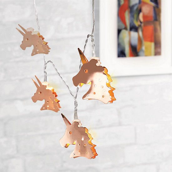 Metallic Unicorn String Lights