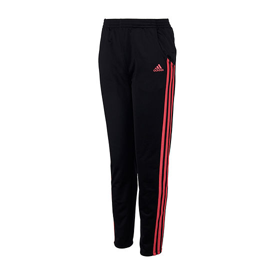 adidas Girls Mid Rise Straight Track Pant - Big Kid
