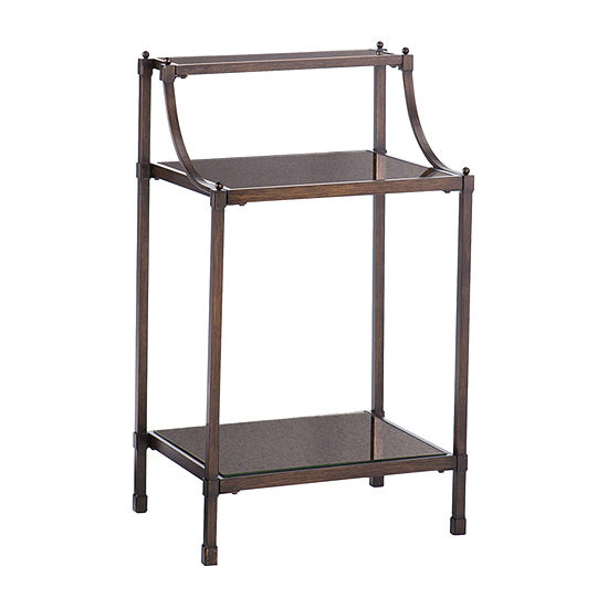 Feten Metal Accent Table