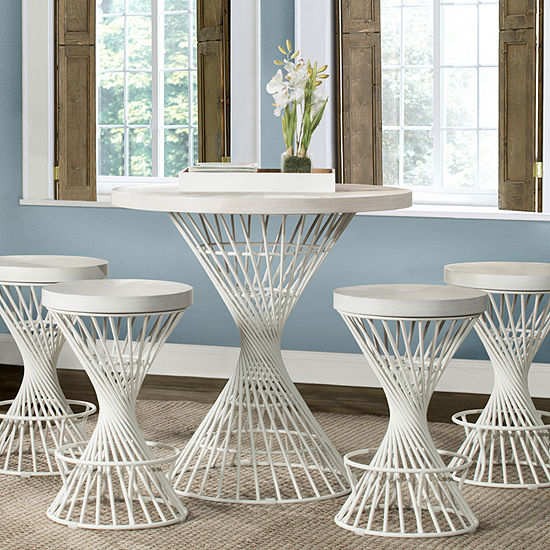 Hillsdale House 5-pc. Counter Height Round Dining Set