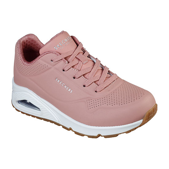 Skechers Womens Street Uno Oxford Shoes Closed Toe