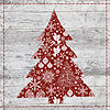 Metaverse Art Xmas Sign III Gallery Wrapped CanvasWall Art