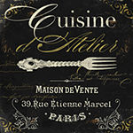 Metaverse Art La Cuisine I Gallery Wrapped CanvasWall Art