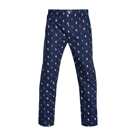 U.S. Polo Assn. Mens Poplin Pajama Pants