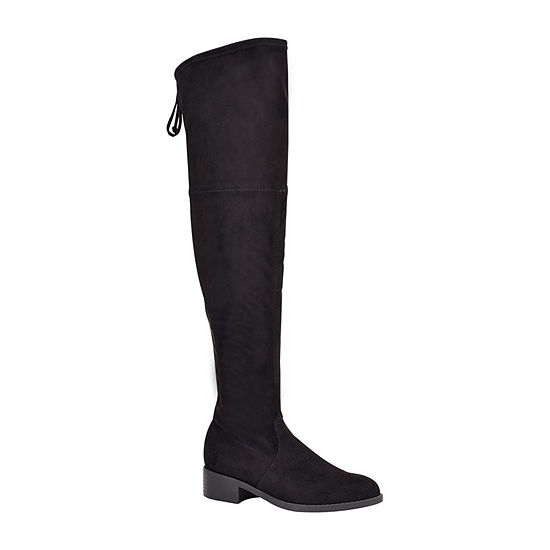 Unisa Womens Mayzii Over the Knee Block Heel Boots