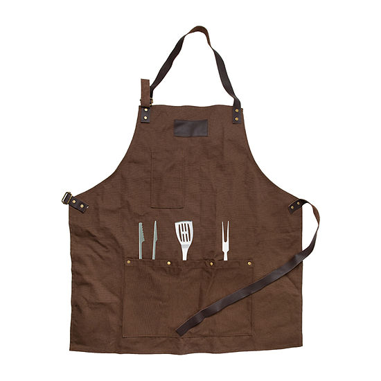 Hammer Axe Apron Waxed Canvas Gift