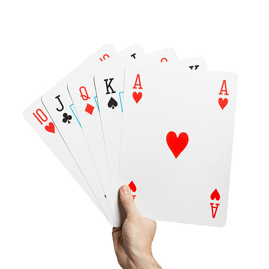 Wembley Playing Cards Jumbo 8x11 Gift