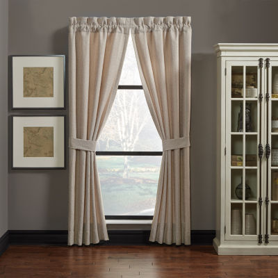 Croscill Classics Nerissa Rod-Pocket Set of 2 Curtain Panel