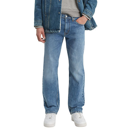 Men's Vintage Pants, Trousers, Jeans, Overalls Levis Mens 559 Flex Relaxed Straight Fit Jeans 42 30 Blue $49.99 AT vintagedancer.com