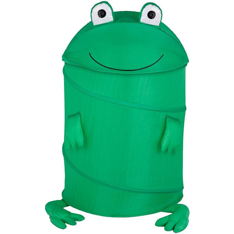 Honey-Can-Do Frog Large Pop-Up Hamper