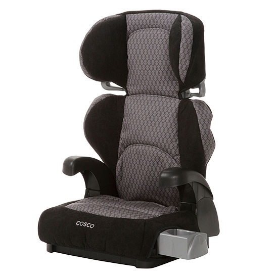 Cosco Pronto Belt Positioning Booster Car Seat Linked Black