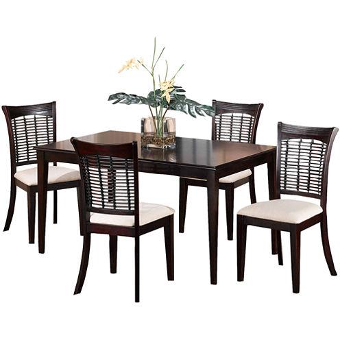 Everwood 5-pc. Rectangular Dining Set
