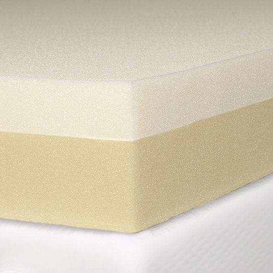 "Eclipse 4"" Memory plus Support Foam Mattress Topper"