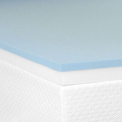 """Snuggle Home™ 3"""" Gel Memory plus Support Foam Mattress Topper"""