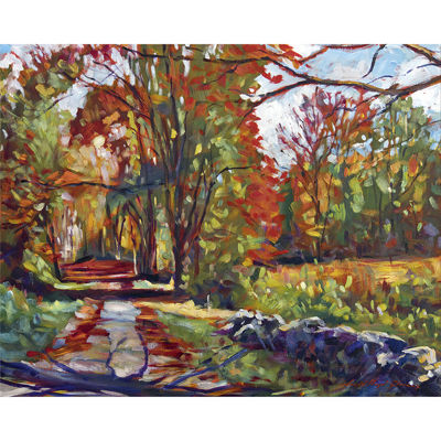 PTM Images® Autumn on the Hudson Canvas Wall Art