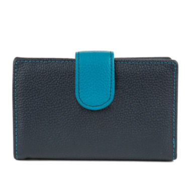 Mundi Rio Leather Indexer Wallet