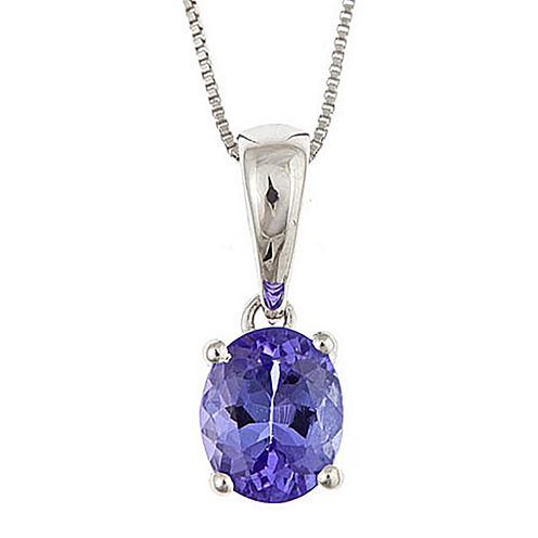 LIMITED QUANTITIES  Genuine Tanzanite Pendant Necklace