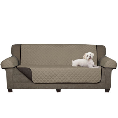 Maytex Smart Cover™ 3-pc. Reversible Quilted Microfiber Sofa Pet Cover