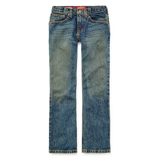 Arizona Bootcut Jeans Boys 4-20, Slim & Husky