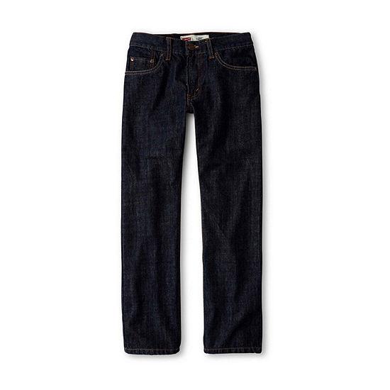 Levi's Big Boys 505 Straight Regular Fit Jean