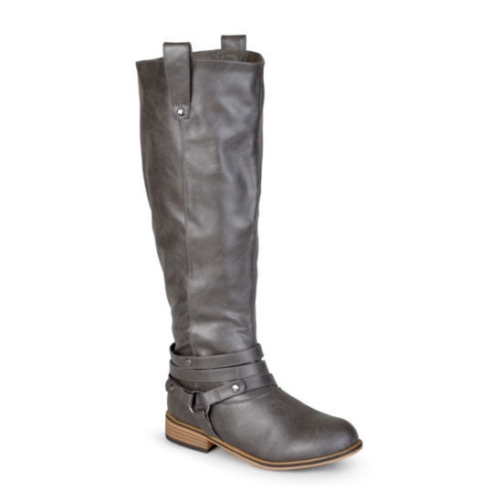Journee Collection Walla Riding Boots - Wide Calf