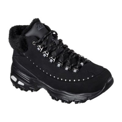 Skechers D'Lites Womens Lace-up Basketball Shoes