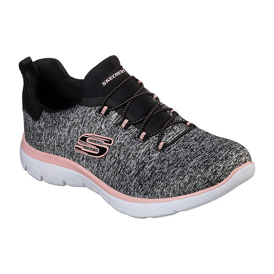 Skechers Summits Womens Walking Shoes Slip-on