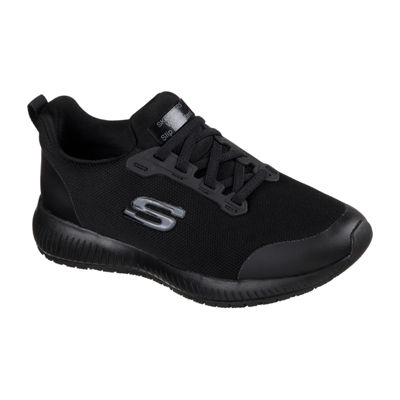 Skechers Squad Sr Womens Sneakers Lace-up Wide Width
