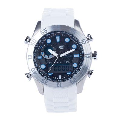 Croton N/A Mens Gold Tone Bracelet Watch-Ci331093bsyl