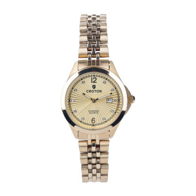 Croton N/A Mens Rose Goldtone Bracelet Watch-Cn307576rgmp