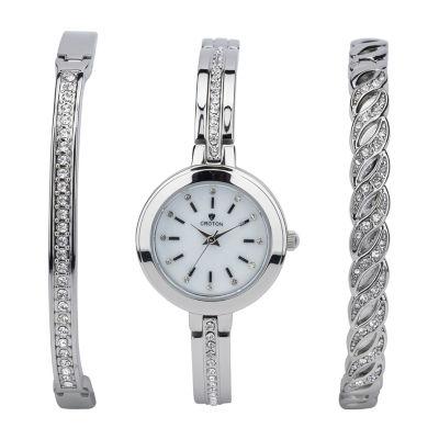 Croton N/A Mens Two Tone Bracelet Watch-Cn307598ttpv