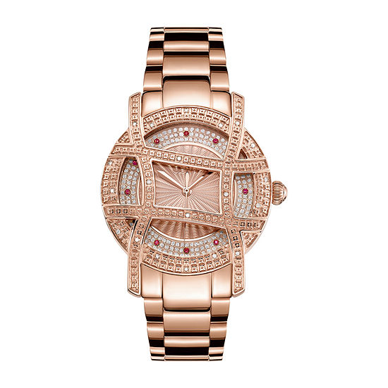JBW 10 YR Anniversary Women's Olympia 0.20 ctw Diamond 18K Rose Gold-plated  Watch JB-6214-10A