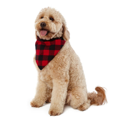 North Pole Trading Co. Pet Flannel Bandana