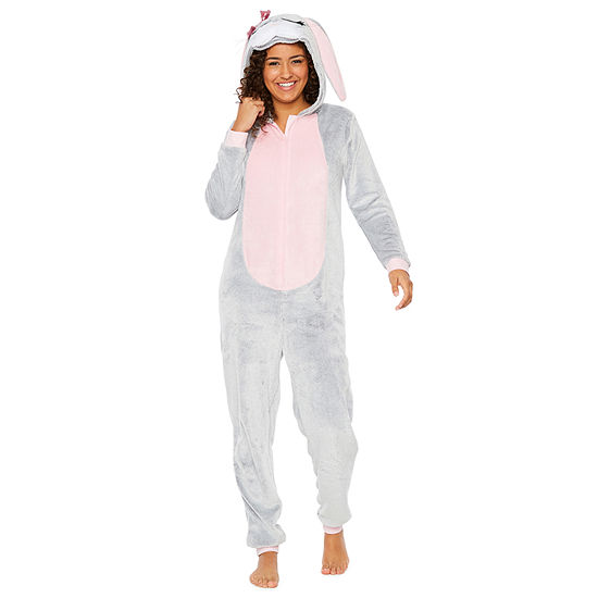 Peace Love And Dreams Long Sleeve One Piece Pajama JCPenney 49fa693c0