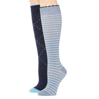 Mixit Marled 3 Pair Over the Calf Socks - Womens
