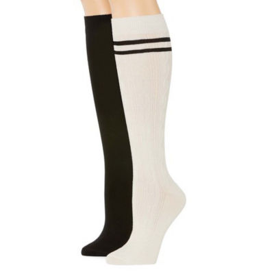 Mixit 2 Pair Rayon from Bamboo Knee High Socks - Womens