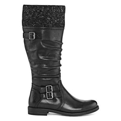 Yuu Womens Carella Zip Riding Boots