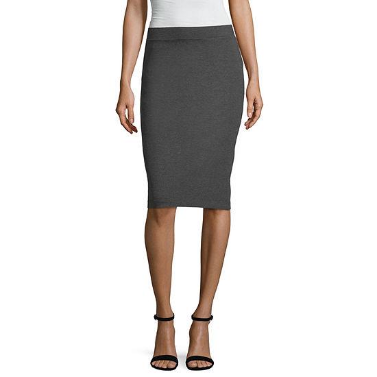 Liz Claiborne Studio Ponte Skirt - Tall