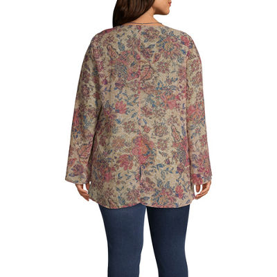 Unity World Wear High Low Flare Sleeve Tunic - Plus